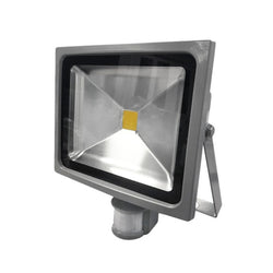 30W Silver Grey Casing LED PIR Flood Light