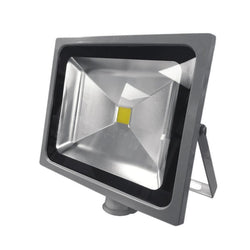 50W Silver Grey Casing LED PIR Flood Light