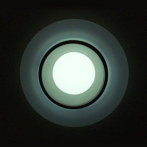 G.W.S LED Wholesale 6W / Day White / No Backlit Recessed Round LED Panel Light