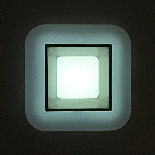G.W.S LED Wholesale 6W / Day White / No Backlit Recessed Square LED Panel Light