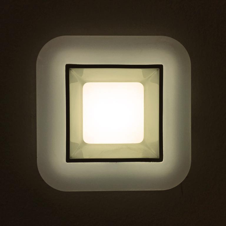 G.W.S LED Wholesale 6W / Neutral White / No Backlit Recessed Square LED Panel Light