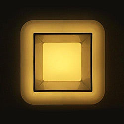 G.W.S LED Wholesale 6W / Warm White / No Backlit Recessed Square LED Panel Light