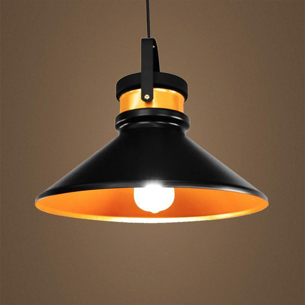 G.W.S LED Wholesale Black Cone (PD-B3) Pendant Ceiling Light