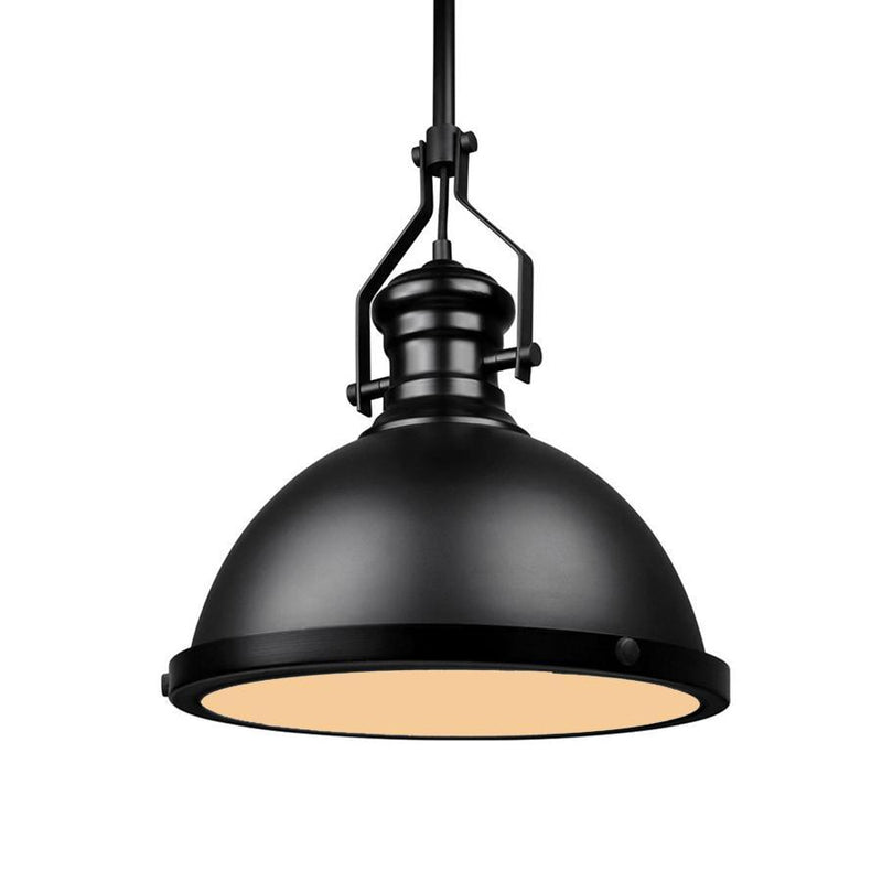 G.W.S LED Wholesale Black Dome (PD-B1) Pendant Ceiling Light