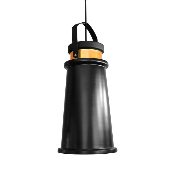G.W.S LED Wholesale Black Long Funnel (PD-B2) Pendant Ceiling Light
