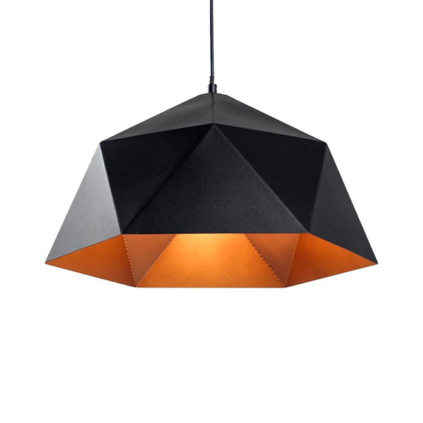 G.W.S LED Wholesale Black Pryzm (PD-B5) Pendant Ceiling Light