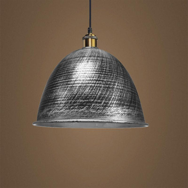 G.W.S LED Wholesale Brushed Grey Bell (PD-M1) Pendant Ceiling Light