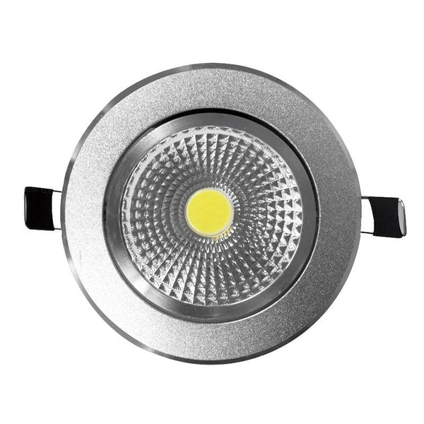 G.W.S LED Wholesale Chrome Surface LED COB Downlight
