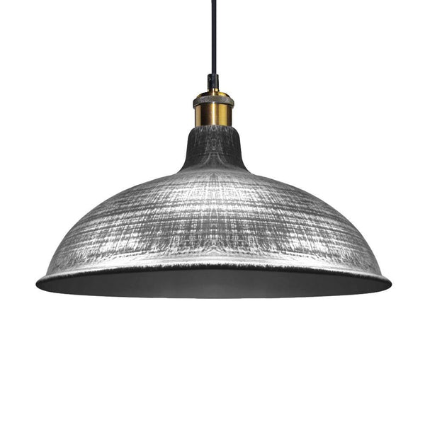 G.W.S LED Wholesale Curved Brushed Grey (PD-M2) Pendant Ceiling Light