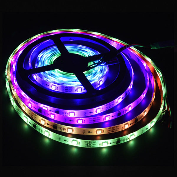 G.W.S LED Wholesale IP65 5050 5 Meters 300 LEDs Dream Colour Strip Light