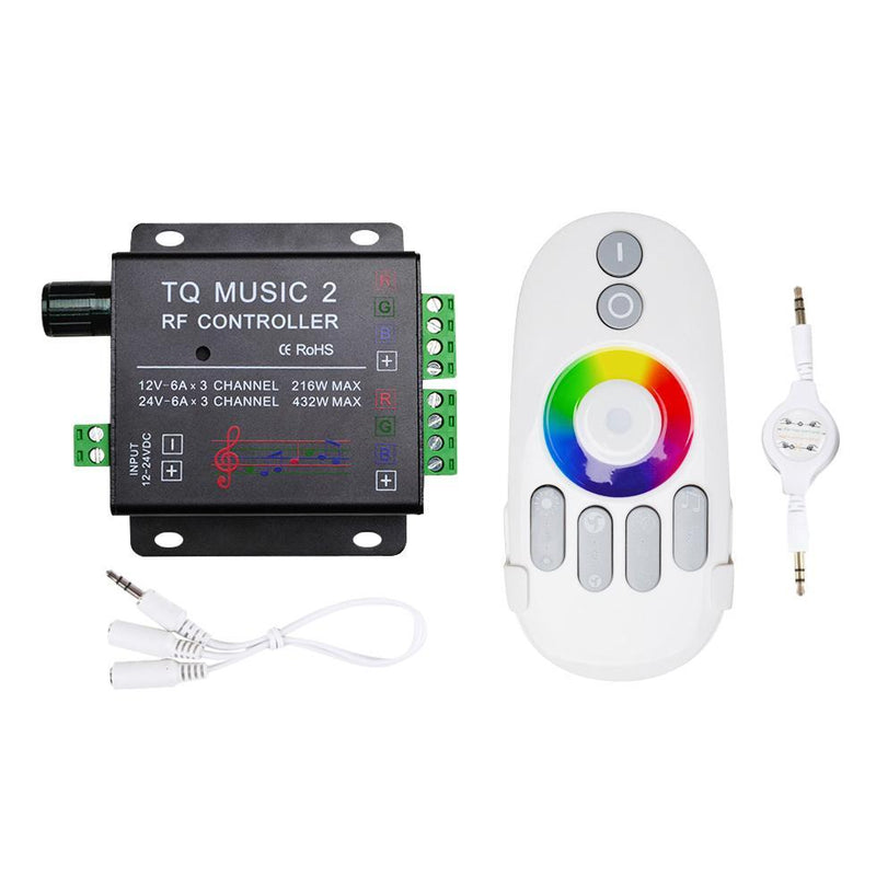 Music RGB LED Strip Touch Controller
