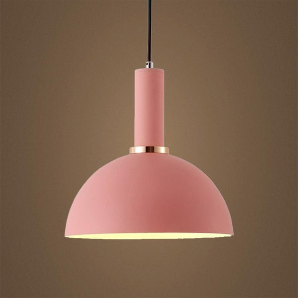 G.W.S LED Wholesale Pink Dome (PD-C2) Pendant Ceiling Light