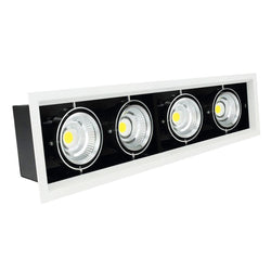 G.W.S LED Wholesale Quadruple Commercial LED COB Downlight