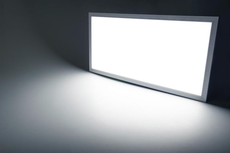 G.W.S LED Wholesale Recessed / Day White / No 595x295mm 24W White Frame LED Panel Light