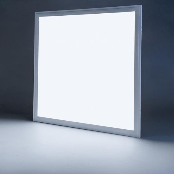 G.W.S LED Wholesale Recessed / Day White / No 595x595mm 48W White Frame LED Panel Light