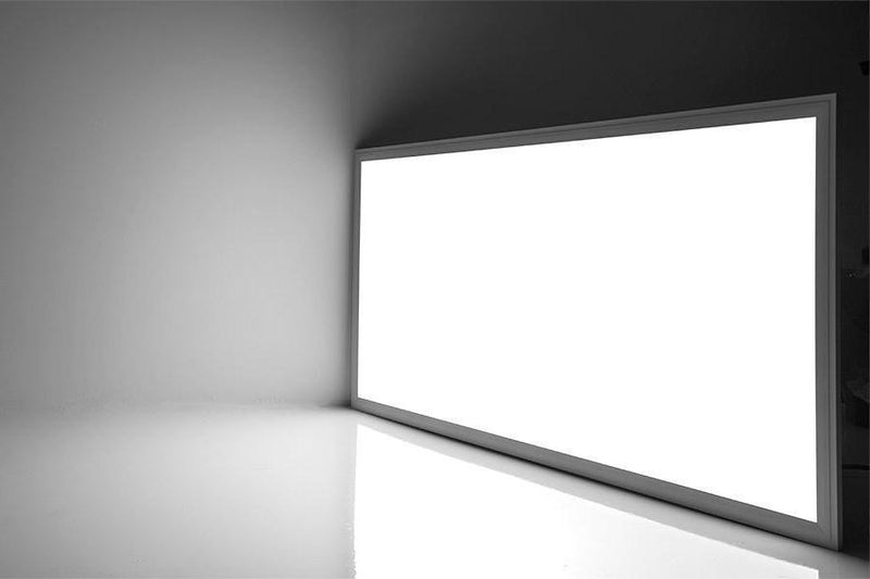 G.W.S LED Wholesale Recessed / Neutral White / No 595x1195mm 72W White Frame LED Panel Light