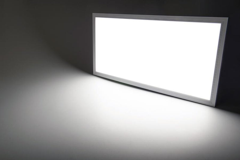 G.W.S LED Wholesale Recessed / Neutral White / No 595x295mm 24W White Frame LED Panel Light