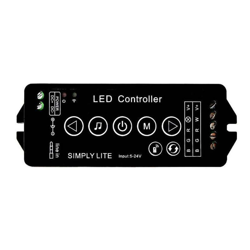 RGBW Music LED Strip Controller