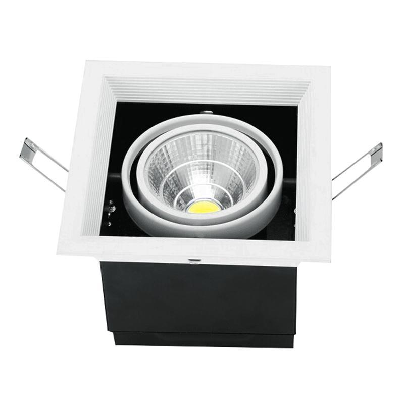 G.W.S LED Wholesale Single Commercial LED COB Downlight