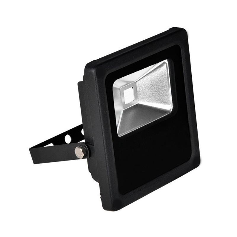 G.W.S LED Wholesale Slimline 10W Black Casing LED Coloured Flood Light