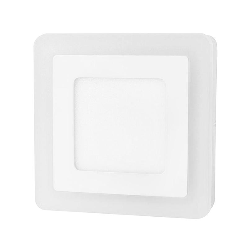 G.W.S LED Wholesale Surface Mounted Square Blue Edge Lit LED Panel Light