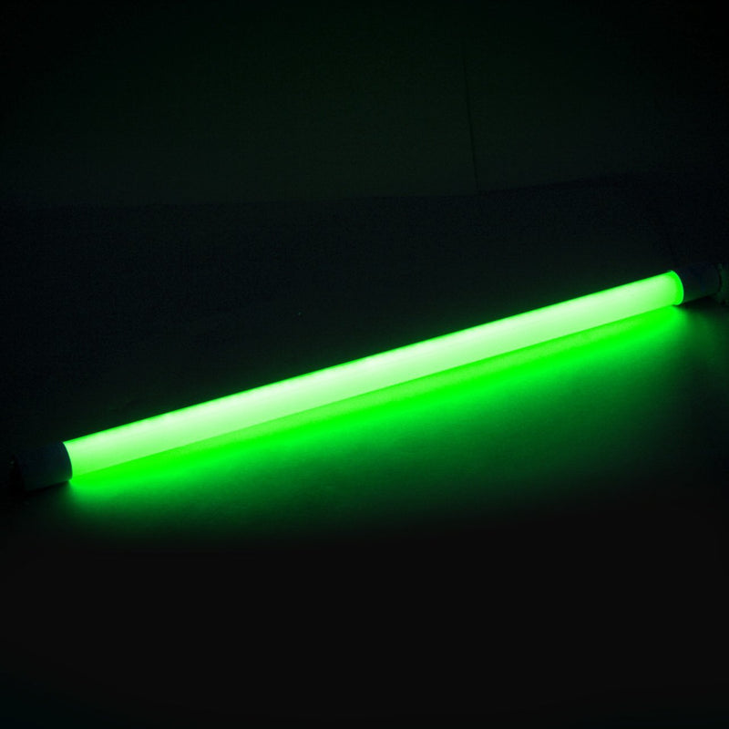 T8 2FT Single End Feed LED Tube Light Green
