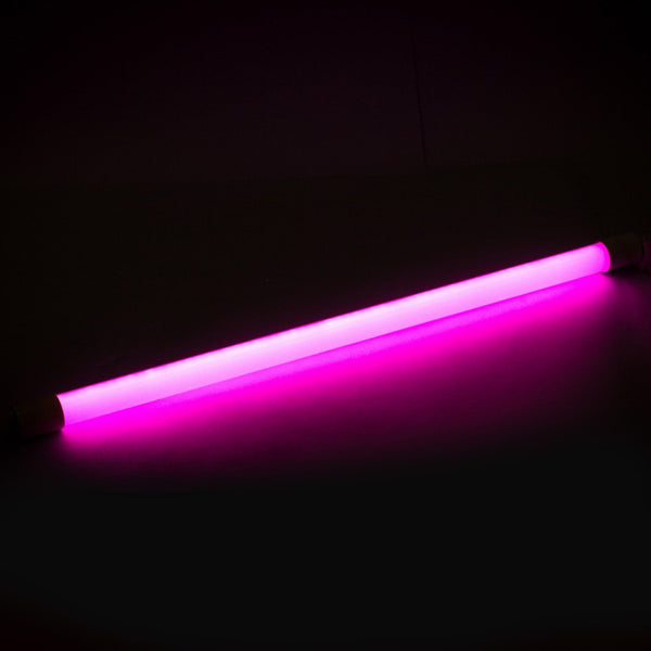 T8 2FT Single End Feed LED Tube Light Purple