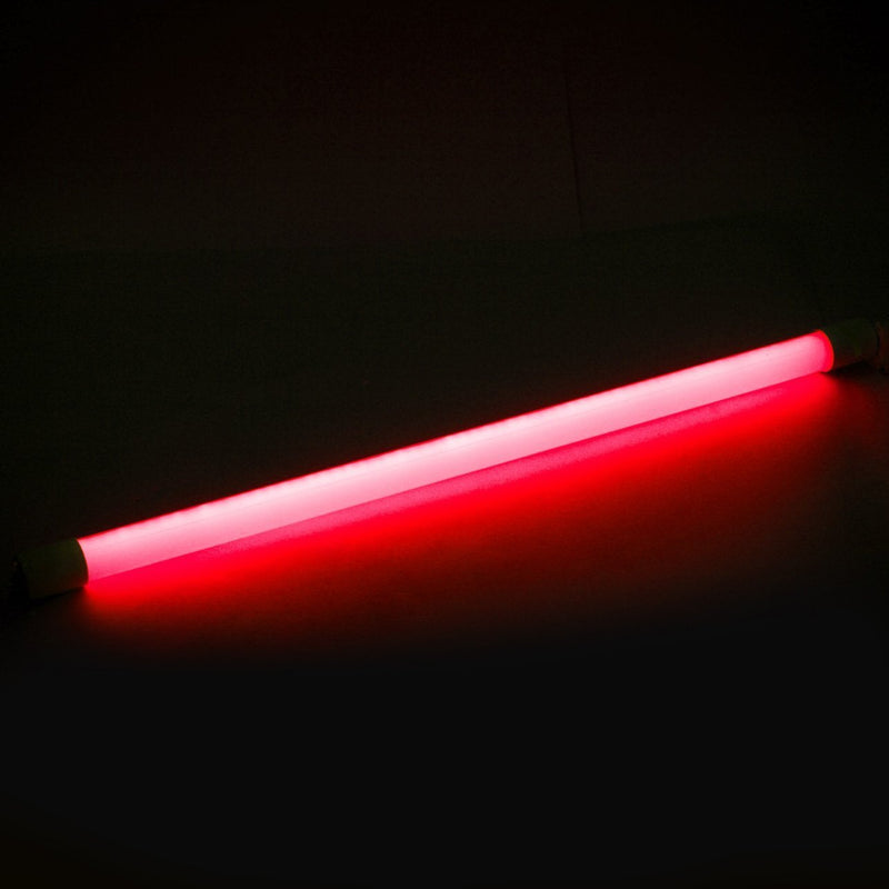 T8 4FT Single End Feed LED Tube Light Red