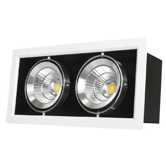 G.W.S LED Wholesale Twins Commercial LED COB Downlight