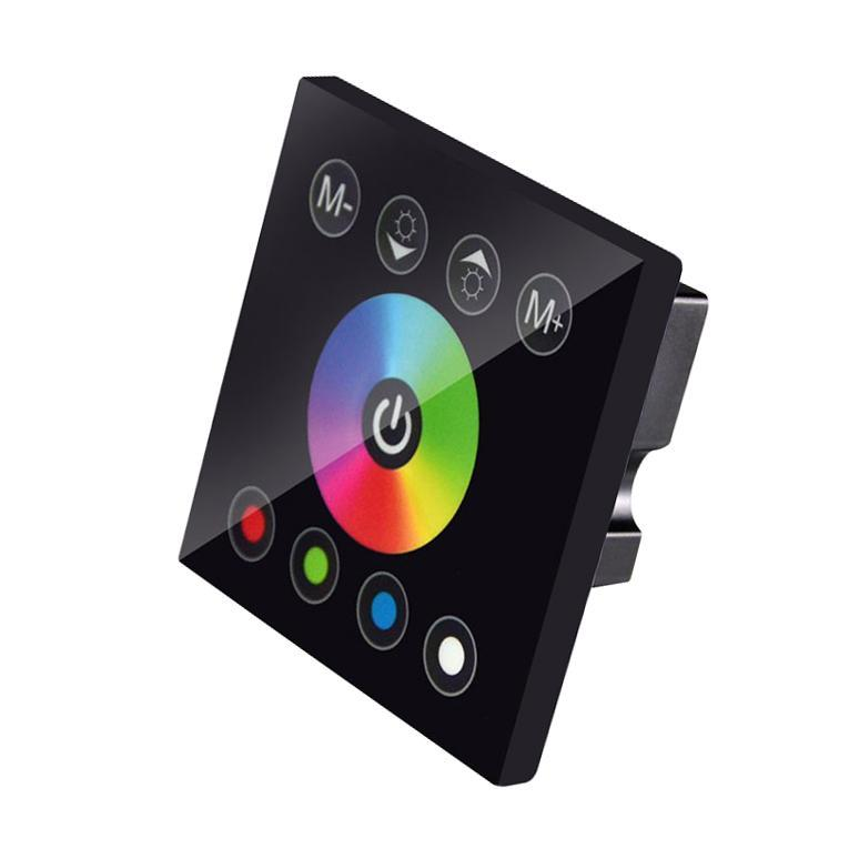 G.W.S LED Wholesale Wall Mounted RGBW LED Strip Touch Controller