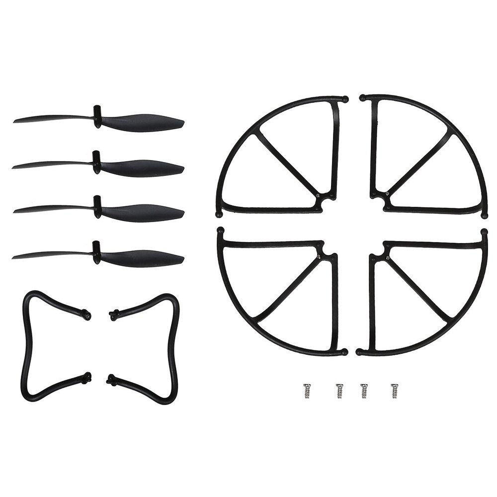 Spare Parts Drone Blades Propellers Blade Guard Landing Grear for F181C F181W RC Quadcopter Accessories