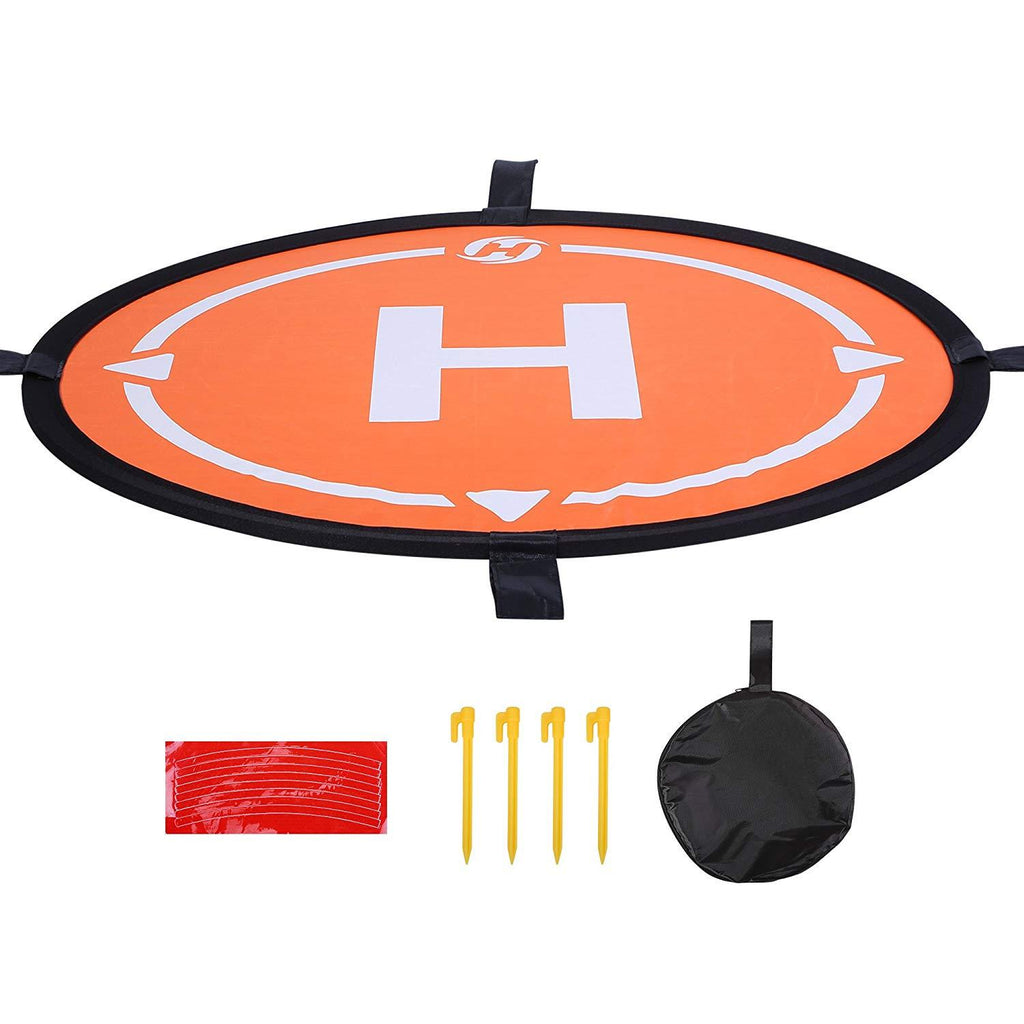 "Landing Pad 21.65""/55cm Waterproof Universal Portable Fast-Fold Accessory for All Holy Stone Drones& More Quadcopter Helicopter"