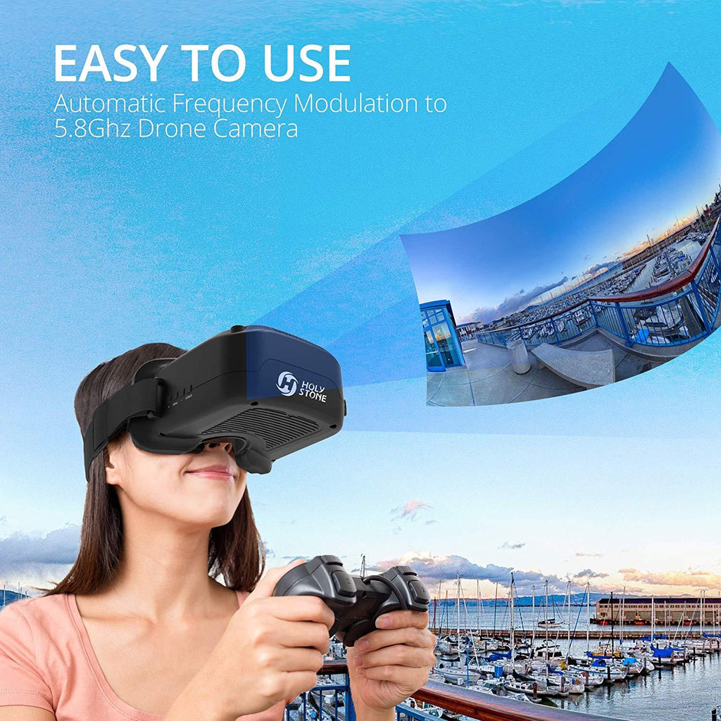 3D VR Headset Virtual Reality Goggles with 3IN Display 5.8Ghz 40CH for FPV RC Drone HS230 F181G
