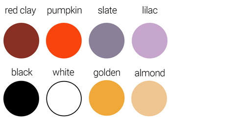 enamel color chart