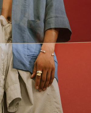 WREN // silver (in-stock) - ORA-C jewelry - handmade jewelry by Montreal based independent designer Caroline Pham