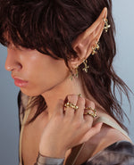 BOW WEE // golden ring - ORA-C jewelry - handmade jewelry by Montreal based independent designer Caroline Pham