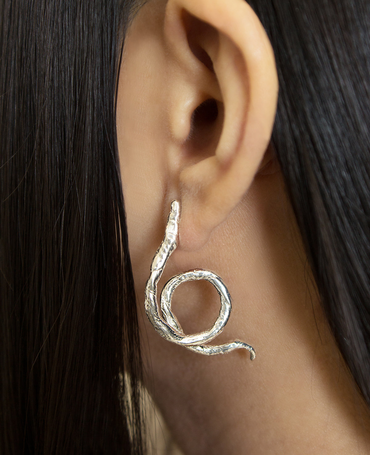 YVONNE // silver - ORA-C jewelry - handmade jewelry by Montreal based independent designer Caroline Pham