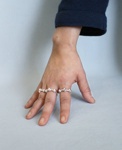 KNOTTI // silver ring - ORA-C jewelry - handmade jewelry by Montreal based independent designer Caroline Pham
