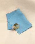 POLISHING CLOTH - ORA-C jewelry - handmade jewelry by Montreal based independent designer Caroline Pham