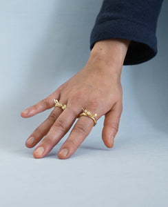 WINGS OF DESIRE // brass ring - ORA-C jewelry - handmade jewelry by Montreal based independent designer Caroline Pham