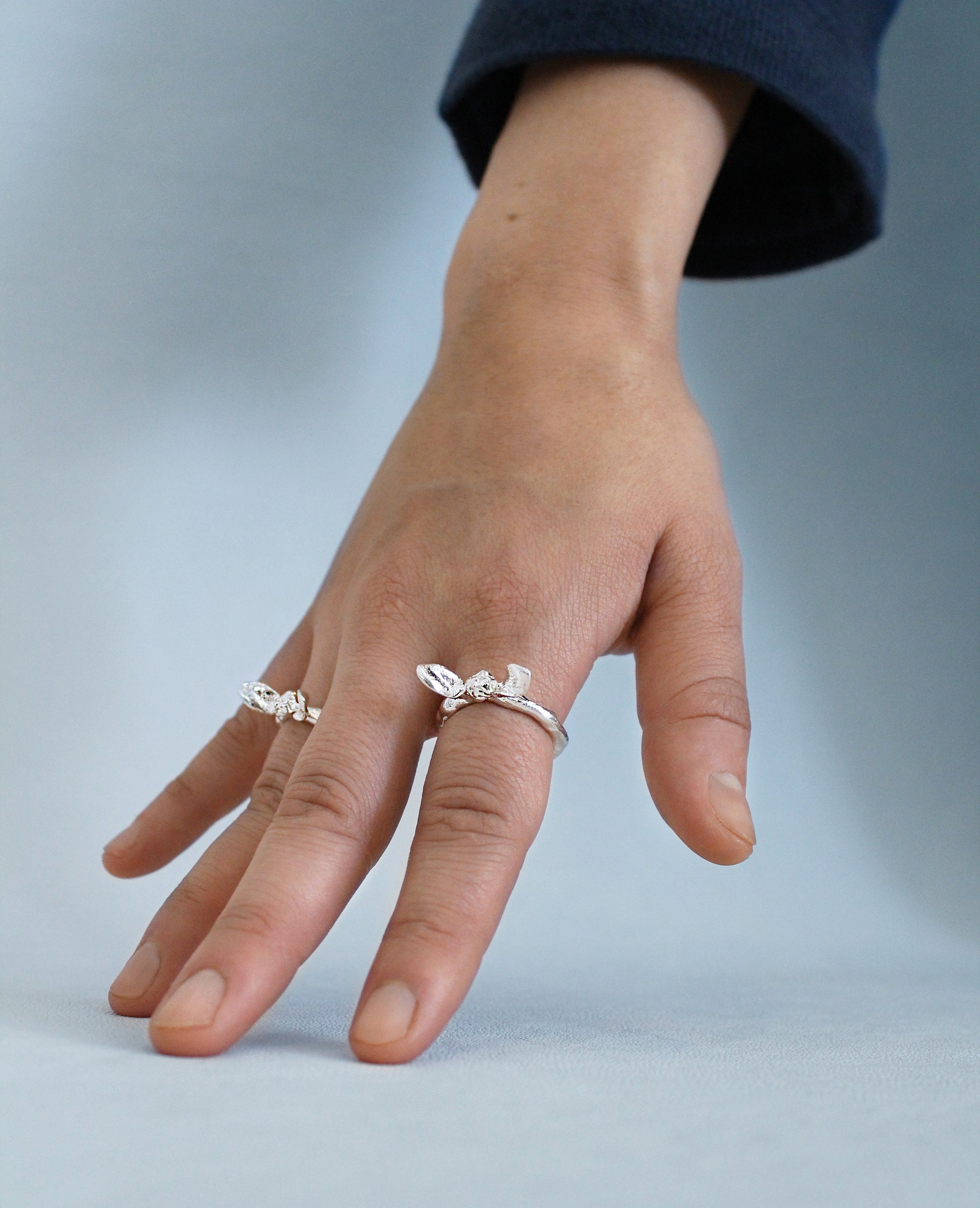 WINGS OF DESIRE // silver ring - ORA-C jewelry - handmade jewelry by Montreal based independent designer Caroline Pham