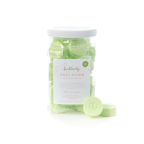 Backbar Pedi Bomb Foot Soak Fizzies - Fresh Lemongrass