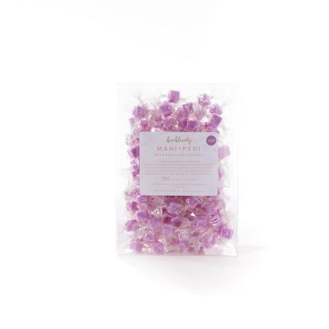 Backbar S+S Mani Pedi Candy Scrub - Lavender Luxury