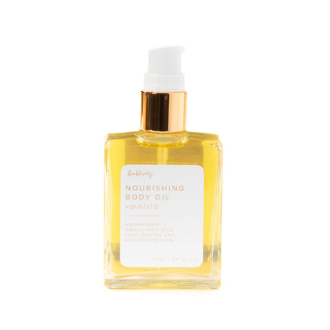 Vanilla - Nourishing Body Oil (MSRP $32)