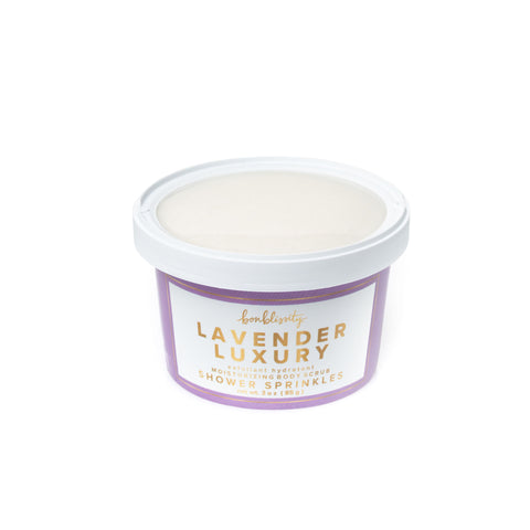 Shower Sprinkles Body Scrub - Lavender Luxury (MSRP $10)