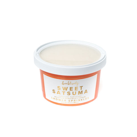 Shower Sprinkles Body Scrub - Sweet Satsuma (MSRP $10)
