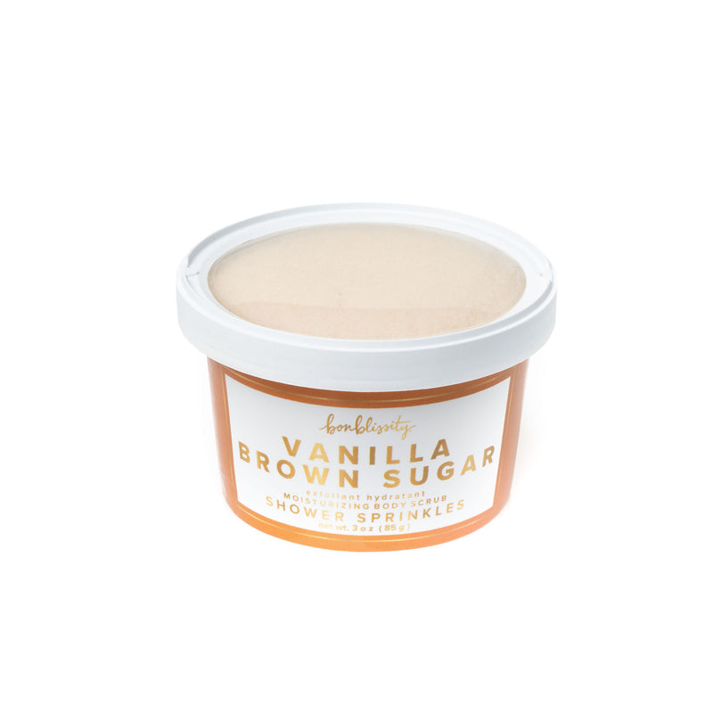 Shower Sprinkles Body Scrub - Vanilla Brown Sugar (MSRP $10)