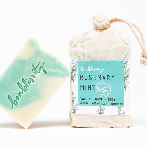 Vegan Soap - Rosemary Mint
