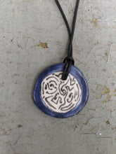 Load image into Gallery viewer, Blue Labyrinth Necklace