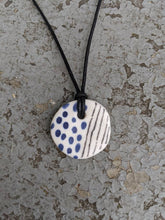 Load image into Gallery viewer, Lines and Dots Necklace